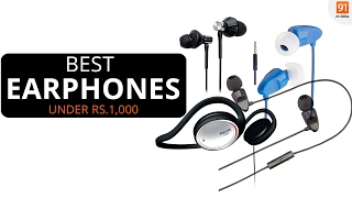 Best headphones you can buy under 1000 Rupees