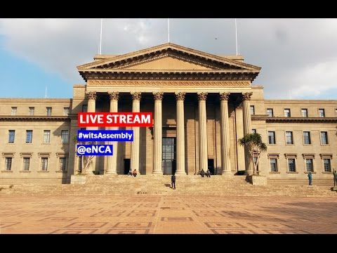 LIVE STREAM: Wits students hold briefing