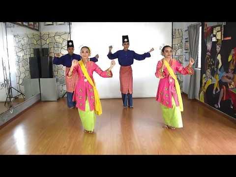 Belajar Tarian Zapin Johor
