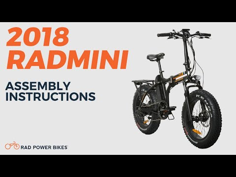 2018 Radmini Assembly And Operation Youtube