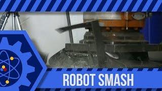 Smashing TVs with a KUKA Robot: Cuz We Can #4