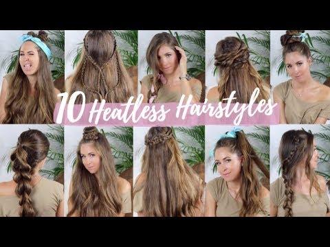 10 Coiffures pour la rentrée | Back To School Hairstyles