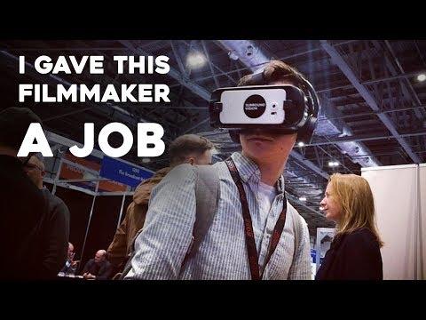 I gave this filmmaker a job (Q+A)