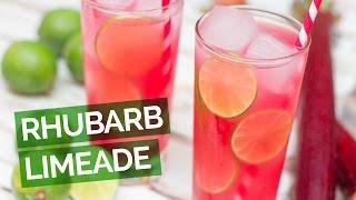 Rhubarb Limeade Recipe