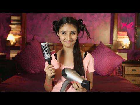 How To Blow Dry Hair at Home! - POPxo