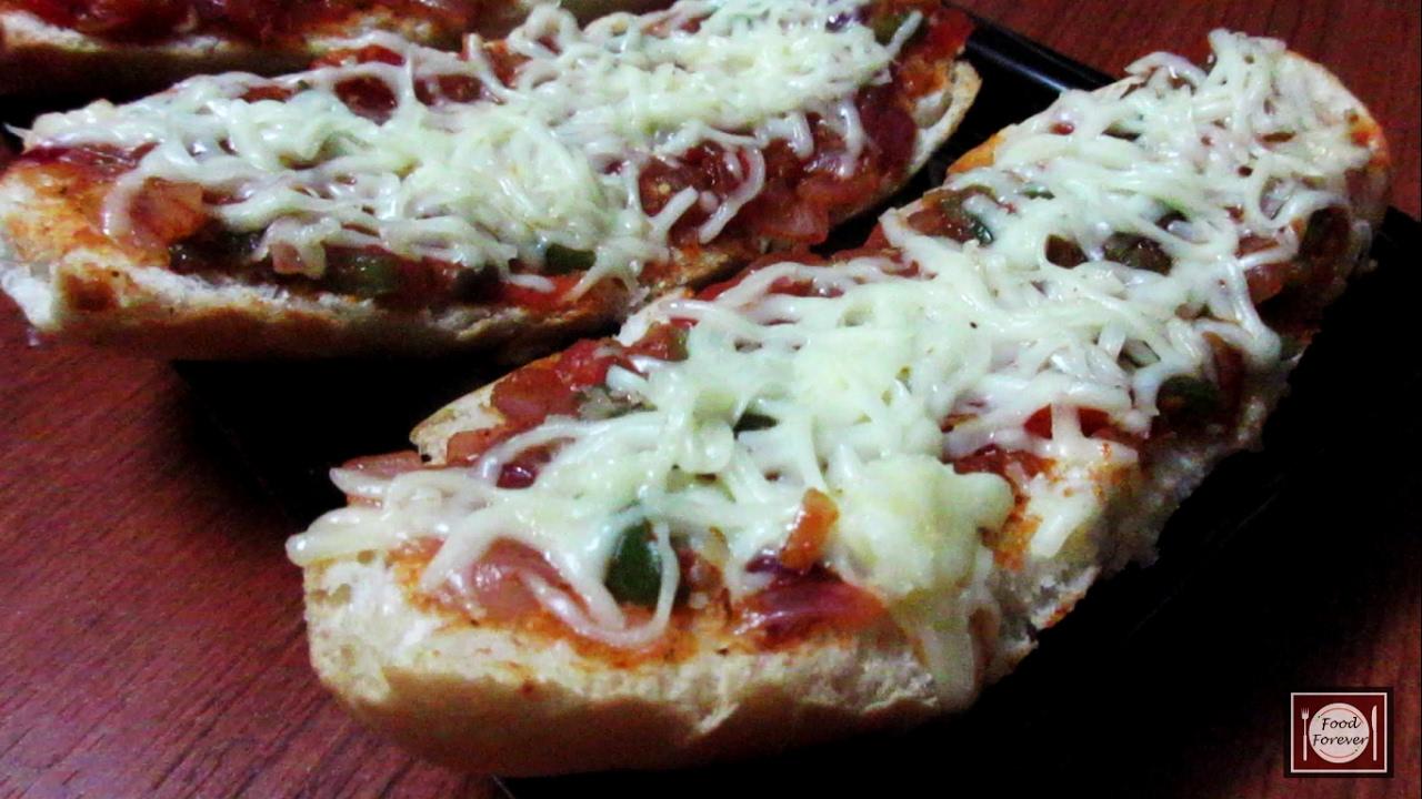 how to make tawa pizza recipe in hindi
