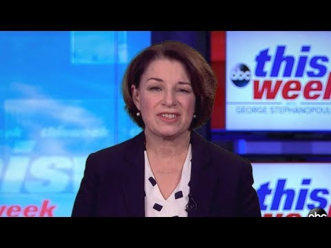 'I know I don't have the highest name ID,' but 'we've got grit': Sen. Klobuchar | ABC News