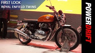 Royal Enfield Interceptor 650 and Continental GT 650 : EICMA 2017 : PowerDrift