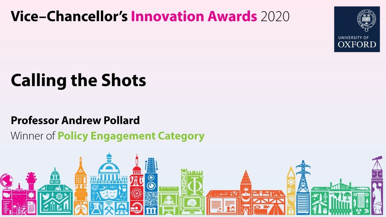Innovation Conversations: Calling the Shots with Professor Andrew Pollard