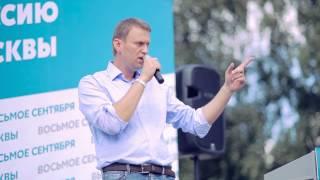 Навальный — встреча с избирателями ст. м. «Пражская». 03.08.2013