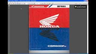 Хонда CBR600F керівництво по експлуатації