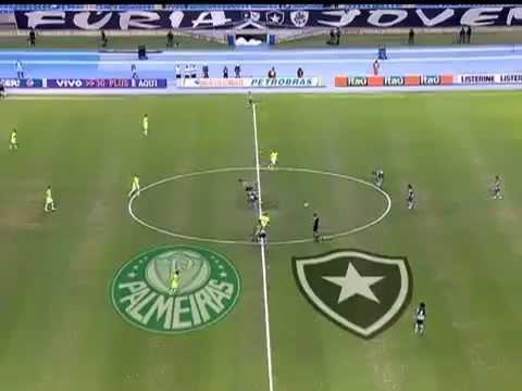 Melhores Momentos - Botafogo 1 x 2 Palmeiras - (15ª Rodada) Campeonato Brasileiro 2012