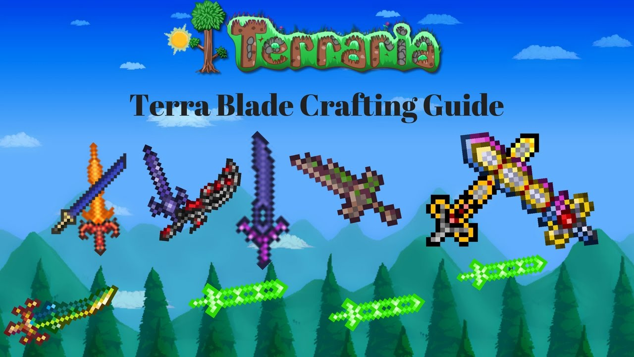 Terraria all emblems guide! + gloves, scopes, farming, crafting.