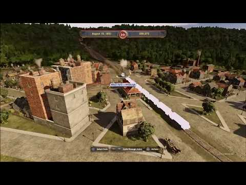 Railway Empire - take over competitor - part one |