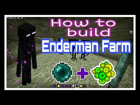 How to make Enderman farm in minecraft