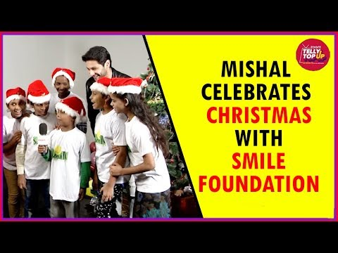 Mishal Raheja Celebrates Christmas & Promotes His Song 'Power Of Love' With Smile Foundation