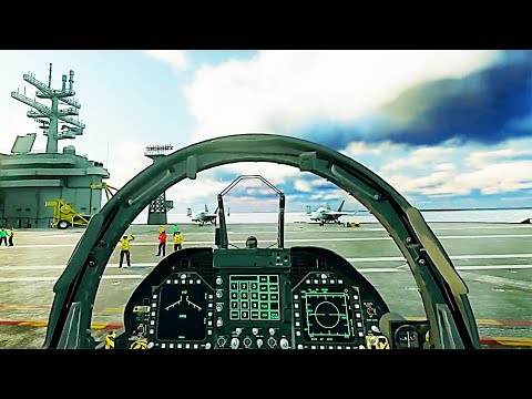 ACE COMBAT 7 VR Gameplay (2018) PS4 / PS VR