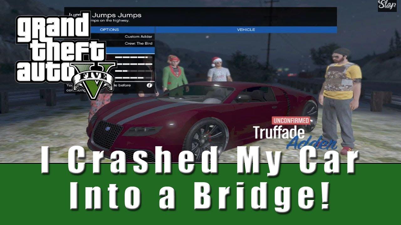I Crashed My Car Into The Bridge I Don