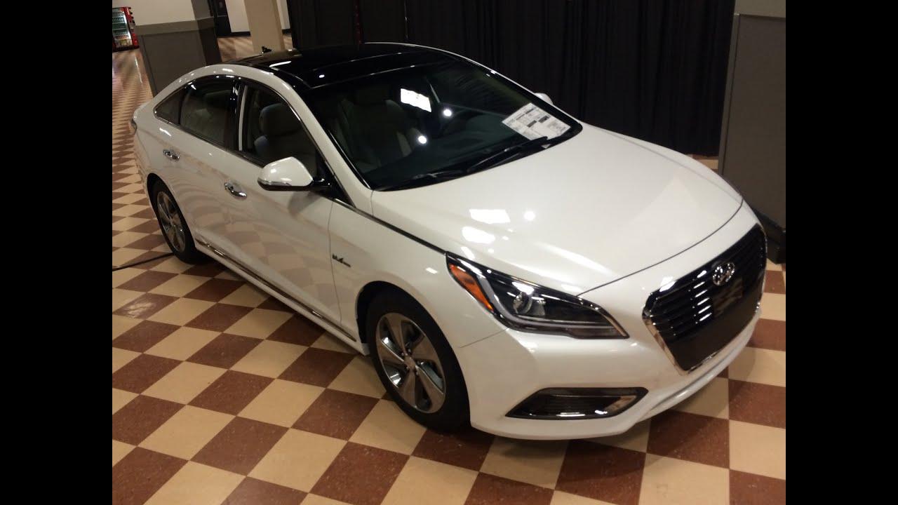 2016 Hyundai Sonata Electric And Plugin Hybrid Review