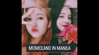 K-pop girl group Momoland is in Manila