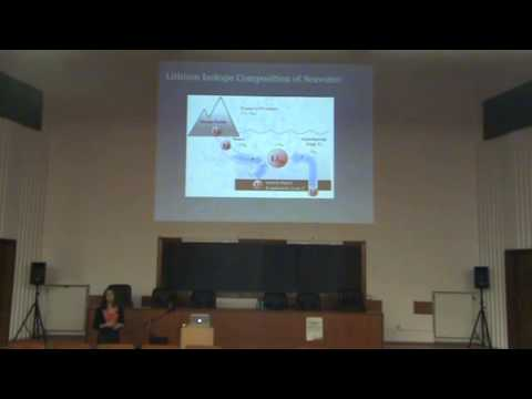 Lecture: Weathering, ocean chemistry and climate change...