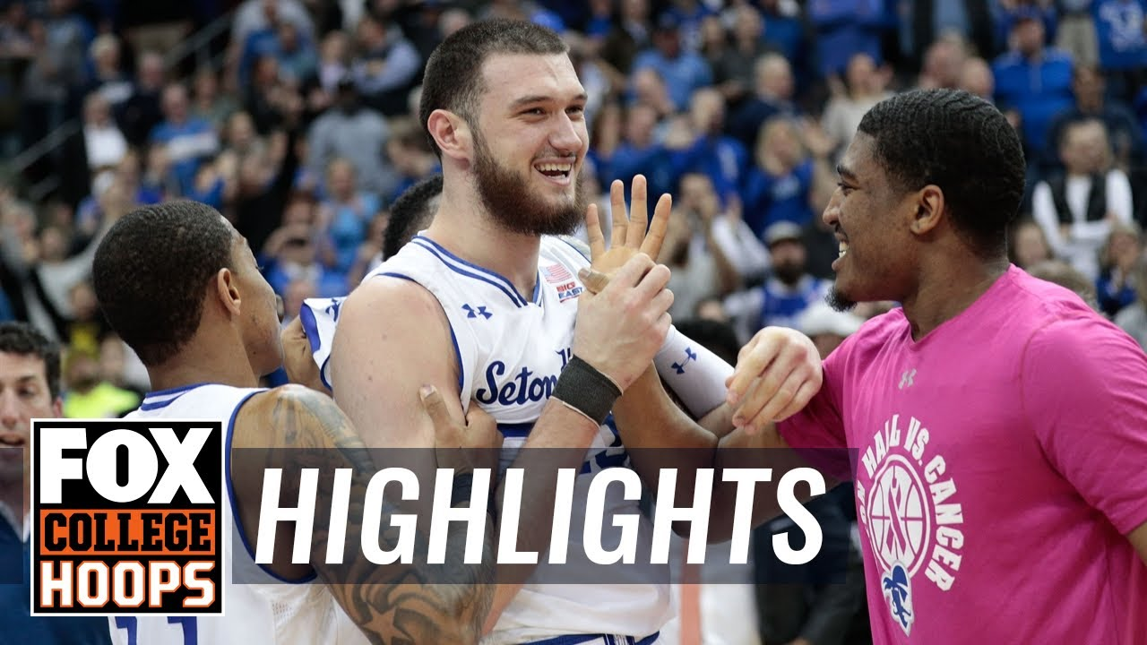 Mamukelashvili buzzer beater keeps Seton Hall in first in Big East  HIGHLIGHTS