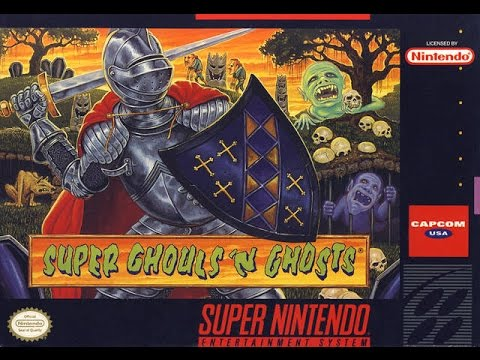 SNES Super Ghouls 'n Ghosts Video Walkthrough