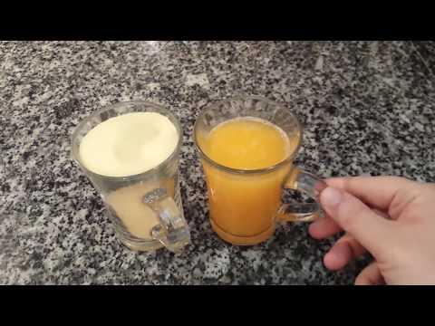 الا عندك كاس عصير برتقال وكاس سميدة؟؟ صاوبي أسهل وألذ وصفة 👌👌👌 في 10 دقائق👍