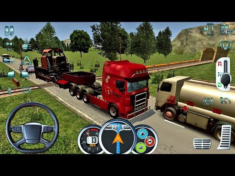 Euro Truck Driver 2018 #10 - New Truck Game Android gameplay #truckgames thumbnail