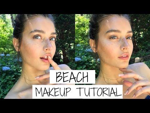 Beach Makeup Tutorial 2017   Jessica Clements
