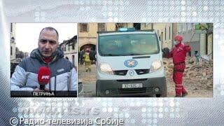 RTS u Petrinji: Ljudi spaseni ispod tri metra šuta, pomoć stiže iz cele Hrvatske