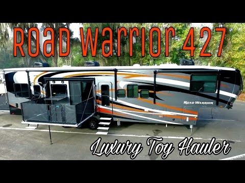 New 2017 Heartland Road Warrior 427 Luxury Toy Hauler | In Depth Walkaround & Tour
