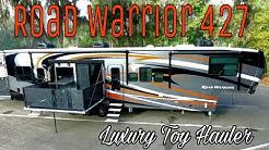 New 2017 Heartland Road Warrior 427 Luxury Toy Hauler | In Depth Walkaround & Tour