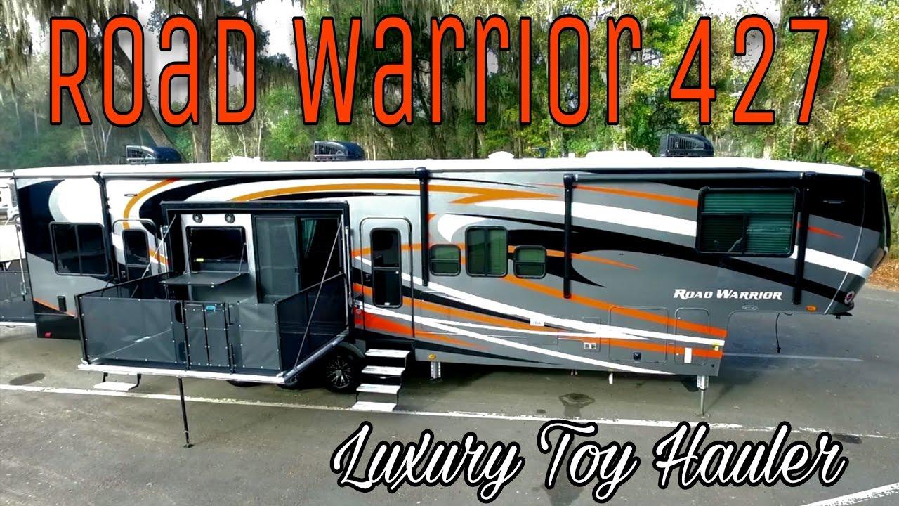 New 2017 Heartland Road Warrior 427 Luxury Toy Hauler In
