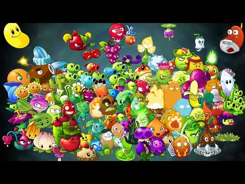 All Plants in Plants vs Zombies 2: Skill & Power-Up!