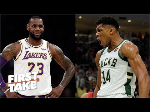 LeBron, Harden, Westbrook all more MVP worthy than Giannis - Ryan Hollins | First Take