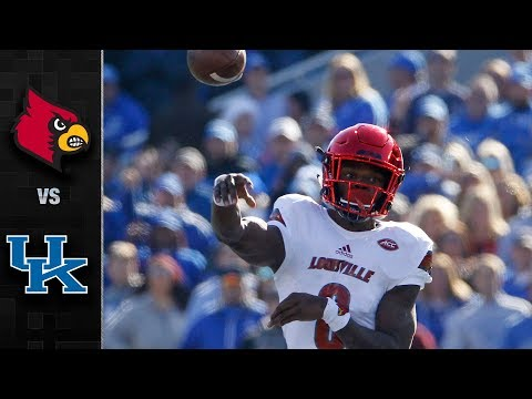 Louisville vs. Kentucky Football Highlights (2017)