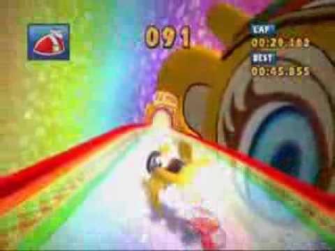 Sonic & Sega All-Stars Racing - Sunshine Tour - Tails - Infinite Drifting