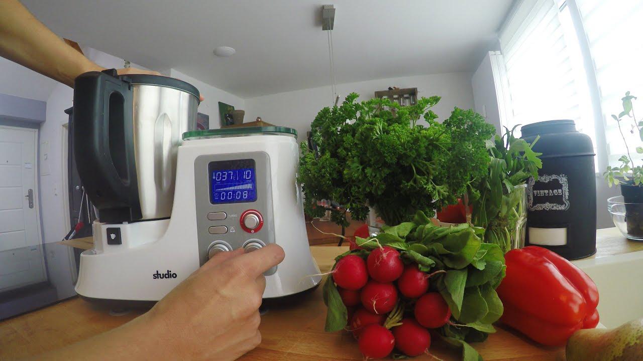 Funktionen der Küchenmaschine Aldi Süd - studio - Mixer | KM2014DG  (Geschwindigkeit, Timer, Waage)