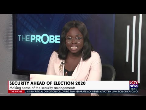 Security Ahead of Election 2020 Making sense of the security arrangements (9-10-20)