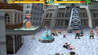 ITA playing One Piece Grand Battle! (PS1) - Monkey D. Luffy