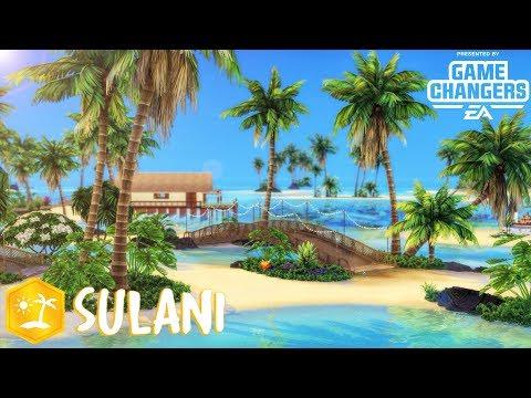 ÎLES PARADISIAQUES 🌴 SULANI || LES SIMS 4