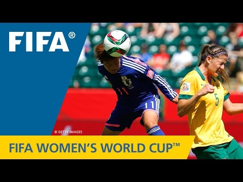 HIGHLIGHTS: Australia v. Japan - FIFA Women's World Cup 2015