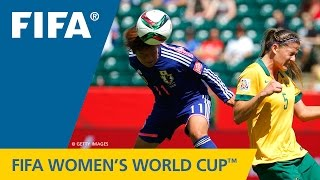 HIGHLIGHTS: Australia v. Japan - FIFA Women's World Cup 2015 thumbnail
