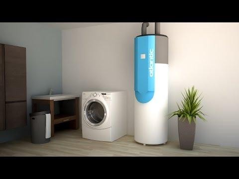 chauffage eau chaude d 39 une maison neuve 3d je construis ma maison avec atlantic thermor. Black Bedroom Furniture Sets. Home Design Ideas
