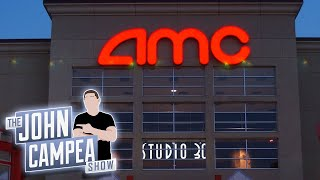 AMC Says They Have 'Substantial Doubt' They Can Stay In Business - The John Campea Show