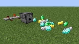 Minecraft : Как сделать бесконечный раздатчик?