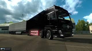 ETS2 Mods Dongfeng Dump Truck Trailer Glitch