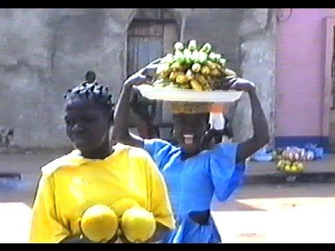 Bissau I Guinea-Bissau I Mercado de Bandim em Bissau 1995