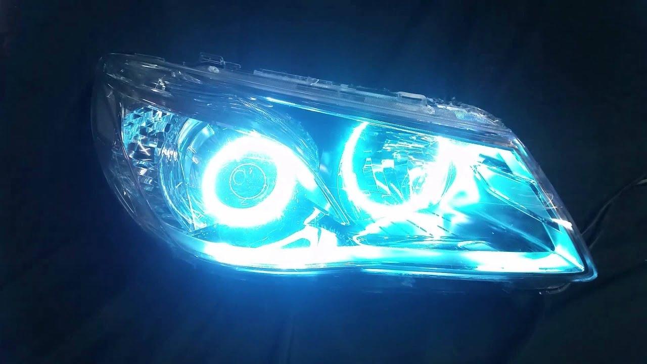 Car angel eyes light-2648